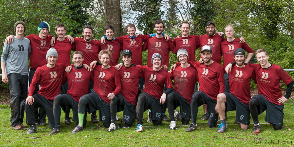 FWD>> Teamfoto Hamburg Rumble 2014